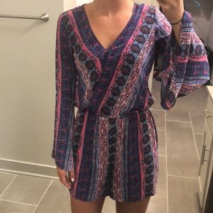 CeCe Long Sleeved Romper
